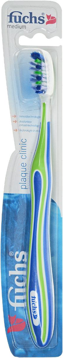 Fuchs Зубная щетка для удаления зубного налета цвет: синий, салатовый263921019_синий. Салатовый