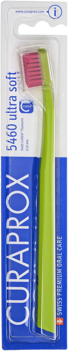 Curaprox CS 5460 Зубная щетка Ultrasoft, d 0,10 мм, цвет: салатовыйCS5460_салатовыйЩетка предназначена для ежедневного очищения зубов. Щетка содержит 5460 мягких активных щетинок (диаметр 0,10мм) и обеспечивает качественное и нетравматичное удаление зубного налета.