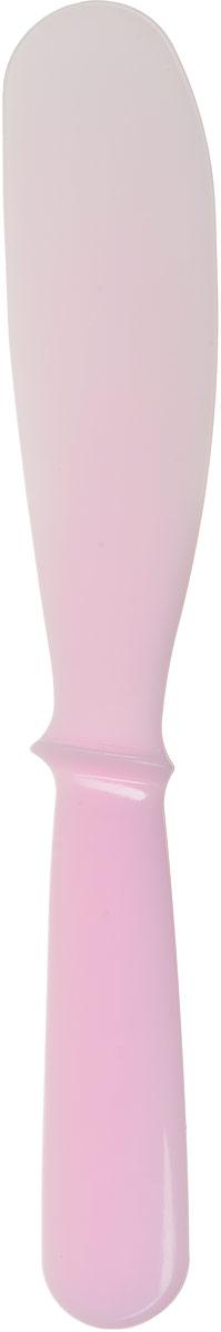 Anskin Лопатка для размешивания маски средняя Spatula Middle, цвет: розовый