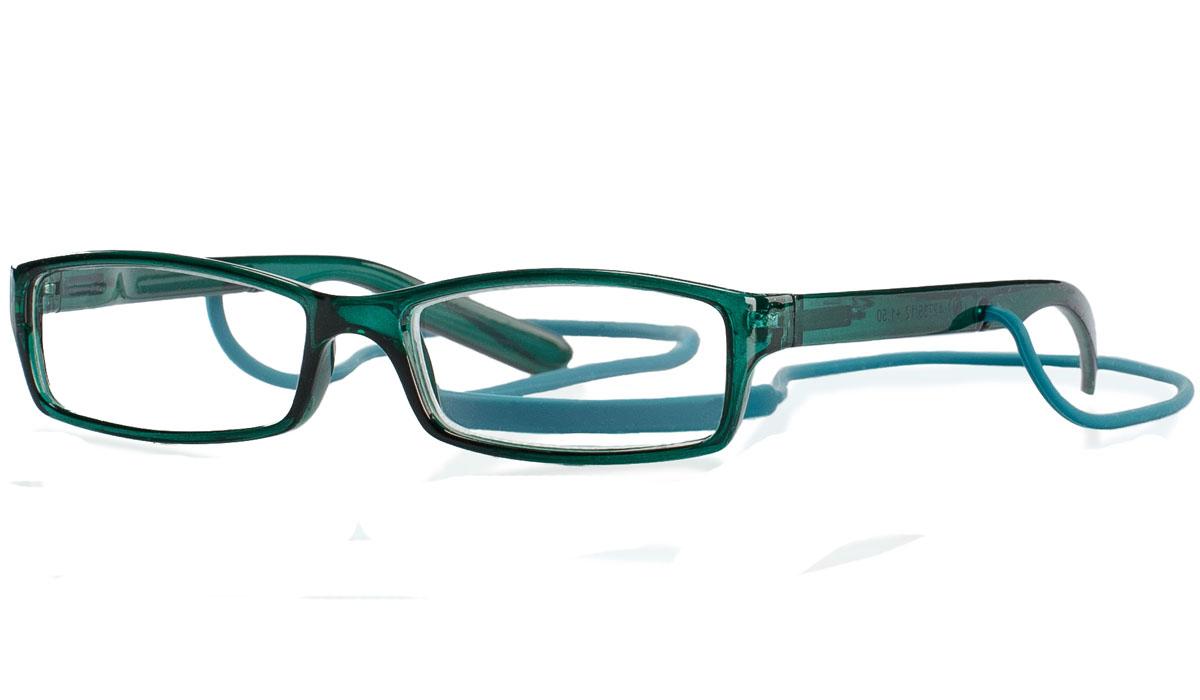 Kemner Optics Очки для чтения +1,5, цвет: зеленый