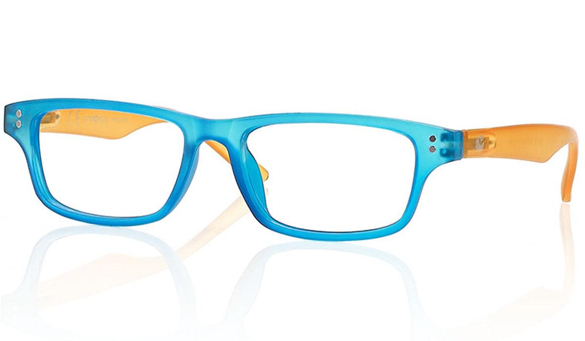 CentroStyle Очки для чтения +1.00, цвет: голубой
