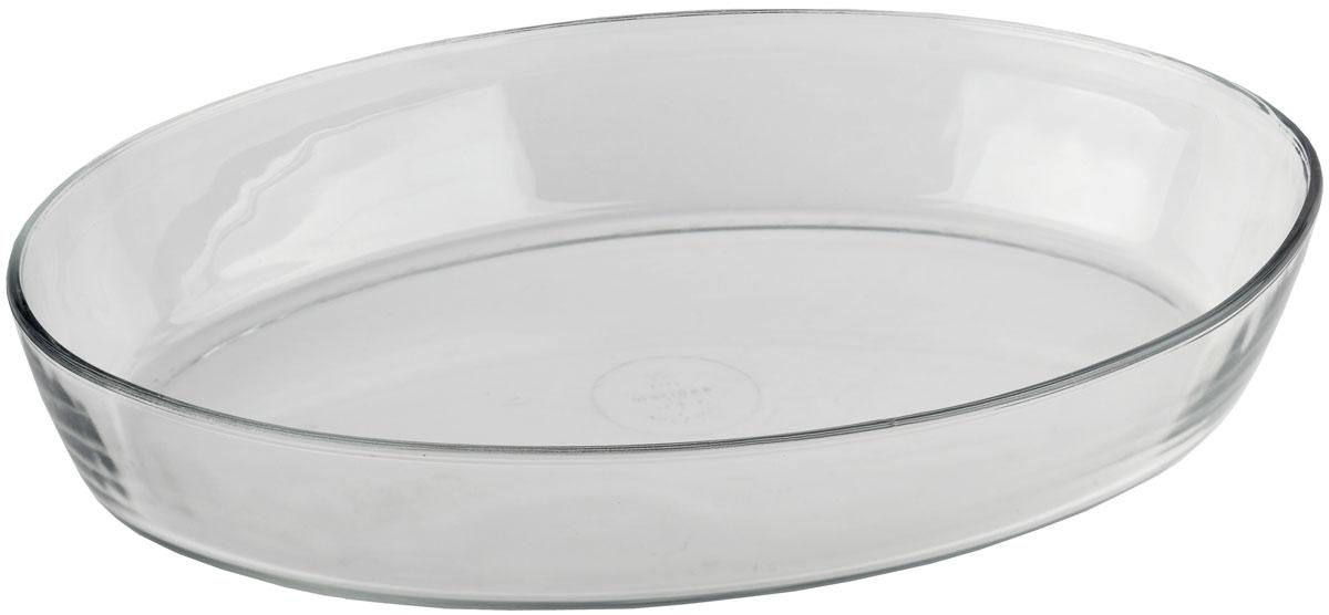 Форма для запекания Marinex, овальная. M163450-1M163450-1Стеклянная форма для запекания жаропрочная Marinex подходит для использования в духовках, микроволновых печах, холодильных и морозильных камерах, посудомоечных машинах.