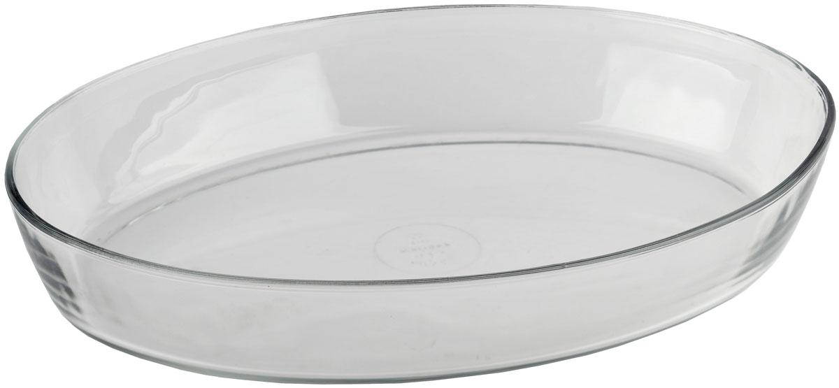 Форма для запекания Marinex, овальная. M166620-1M166620-1Стеклянная форма для запекания жаропрочная Marinex подходит для использования в духовках, микроволновых печах, холодильных и морозильных камерах, посудомоечных машинах.