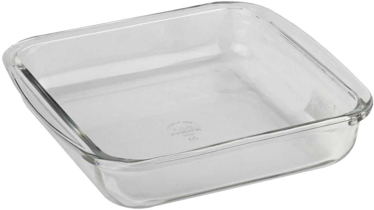 Форма для запекания Marinex, прямоугольная. M162214-1M162214-1Стеклянная форма для запекания жаропрочная Marinex подходит для использования в духовках, микроволновых печах, холодильных и морозильных камерах, посудомоечных машинах.