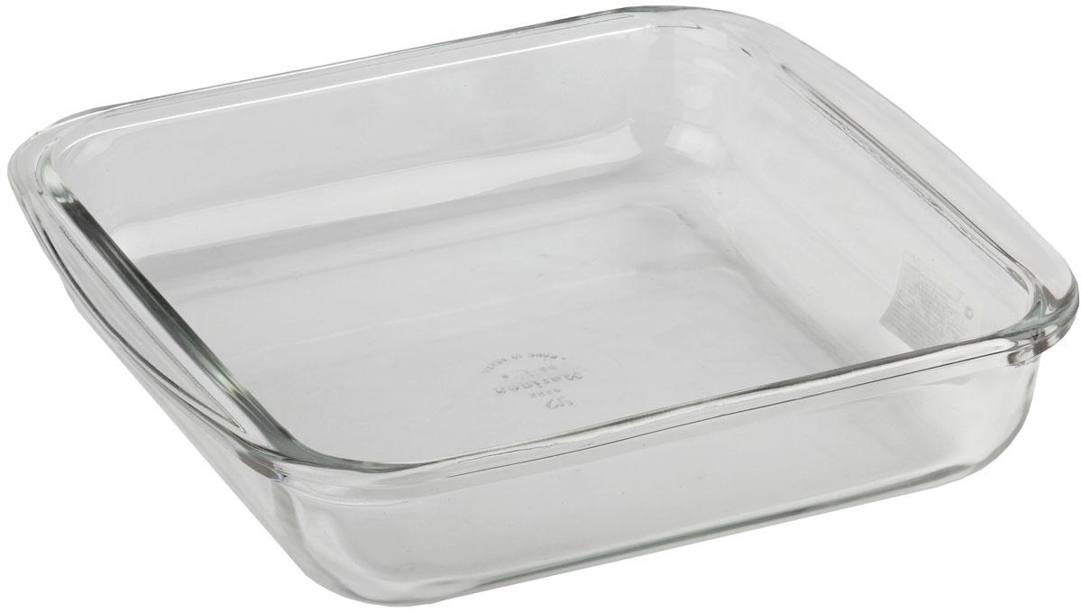 Форма для запекания Marinex, прямоугольная. M162220-1M162220-1Стеклянная форма для запекания жаропрочная Marinex подходит для использования в духовках, микроволновых печах, холодильных и морозильных камерах, посудомоечных машинах.
