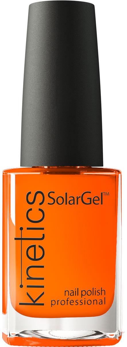 Kinetics Профессиональный лак SolarGel Polish 15 мл, тон 371KNP371Новое поколение профессиональных гелевых лаков для ногтей, которые наносятся как обычный лак, а выглядят как гель. Ультра модные и классические цвета, поражают своей стойкостью и разнообразием оттенков. Стойкость до 10 дней, не требует специальной сушки в UV/LED лампе. Рекомендуется использовать с верхним покрытием SolarGel Top Coat.