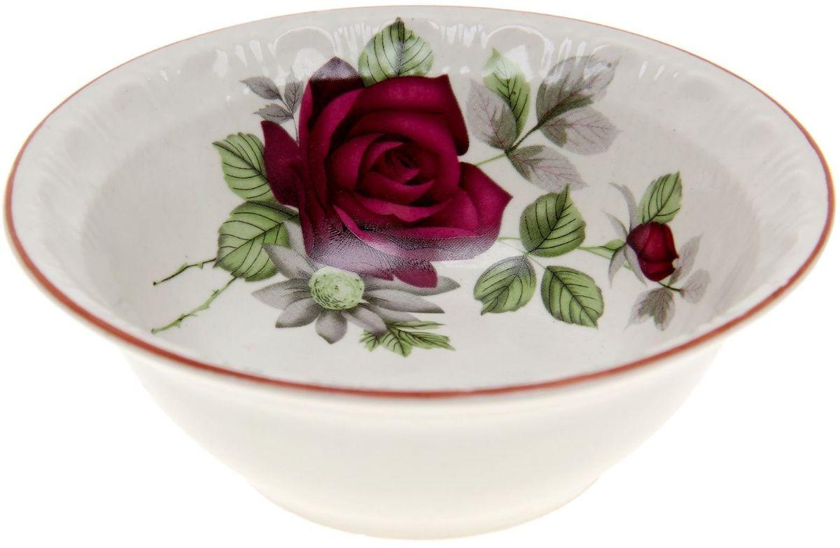 Салатник Дружковский фарфор Вакула. Черная роза, 240 мл1185508Необходимый для любой хозяйки предмет, который сочетает в себе отличное качество и дизайн. Наша посуда станет преданным помощником на Вашей кухне.Покупать у нас просто – Вы заказываете понравившуюся продукцию, а мы доставляем Вам её в любое место!