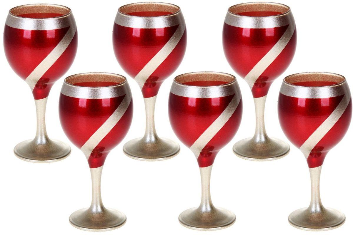 Набор фужеров для вина Хрустальный звон Бистро, 290 мл, 6 шт. 11937371193737Необходимый для любой хозяйки предмет, который сочетает в себе отличное качество и дизайн. Наша посуда станет преданным помощником на Вашей кухне. У нас Вы найдёте красивую посуду на любой притязательный вкус, необычайных форм и размеров, цветов и оттенков. Покупать у нас просто – Вы заказываете понравившуюся продукцию, а мы доставляем Вам её в любое место!
