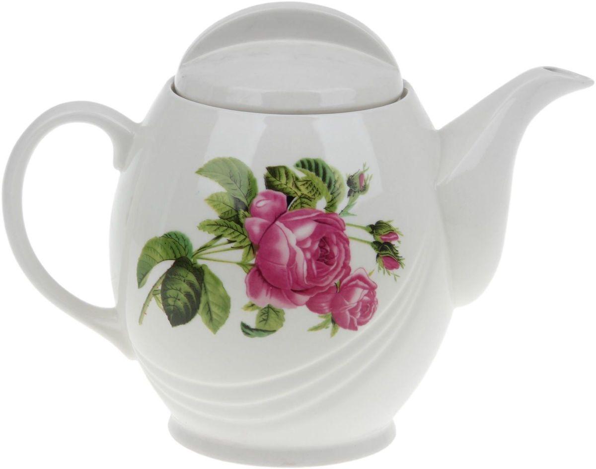 Чайник заварочный Дружковский фарфор Экспресс. Роза Кавказа, 1,7 л1353400Необходимый для любой хозяйки предмет, который сочетает в себе отличное качество и дизайн. Наша посуда станет преданным помощником на Вашей кухне.Покупать у нас просто – Вы заказываете понравившуюся продукцию, а мы доставляем Вам её в любое место!