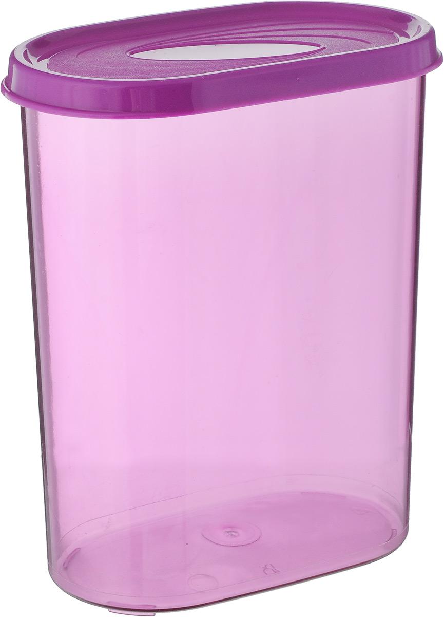 Банка для сыпучих продуктов Giaretti, цвет: сиреневый, 1,6 лGR2228_сиреневыйБанка для сыпучих продуктов Giaretti выполнена из высококачественного пластика. Банка предназначена для хранения круп, сахара, макаронных изделий и в том числе для продуктов с ярким ароматом (специи и прочее). Плотно прилегающая крышка не пропускает запахи содержимого в шкаф для хранения, при этом продукт не теряет своего аромата. Банки легко устанавливаются одна на другую. Можно мыть в посудомоечной машине. Объем: 1,6 л. Размер (по верхнему краю): 14,5 x 8,5 см. Высота (с учетом крышки): 18,5 см.
