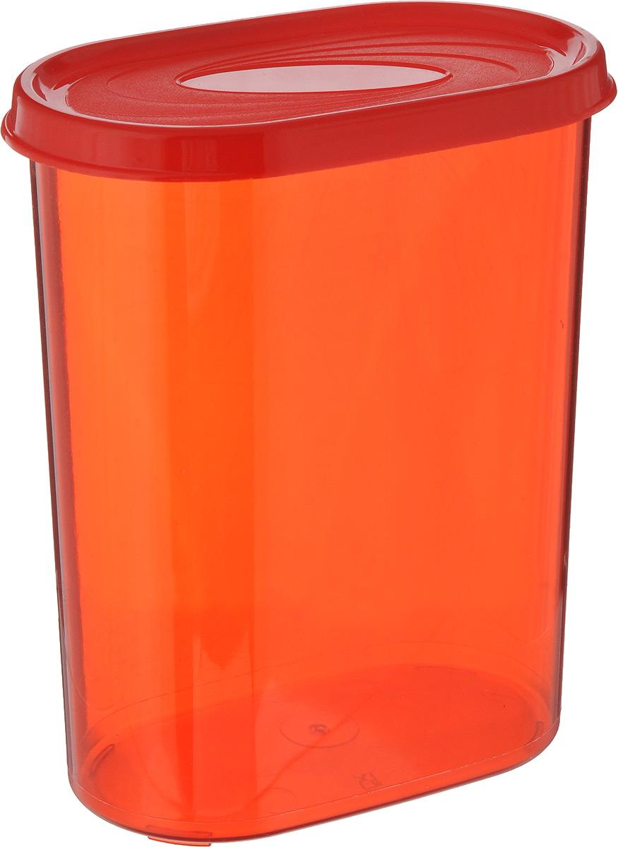 Банка для сыпучих продуктов Giaretti, цвет: красный, 1,6 лGR2228_красныйБанка для сыпучих продуктов Giaretti выполнена из высококачественного пластика. Банка предназначена для хранения круп, сахара, макаронных изделий и в том числе для продуктов с ярким ароматом (специи и прочее). Плотно прилегающая крышка не пропускает запахи содержимого в шкаф для хранения, при этом продукт не теряет своего аромата. Банки легко устанавливаются одна на другую. Можно мыть в посудомоечной машине. Объем: 1,6 л. Размер (по верхнему краю): 14,5 x 8,5 см. Высота (с учетом крышки): 18,5 см.