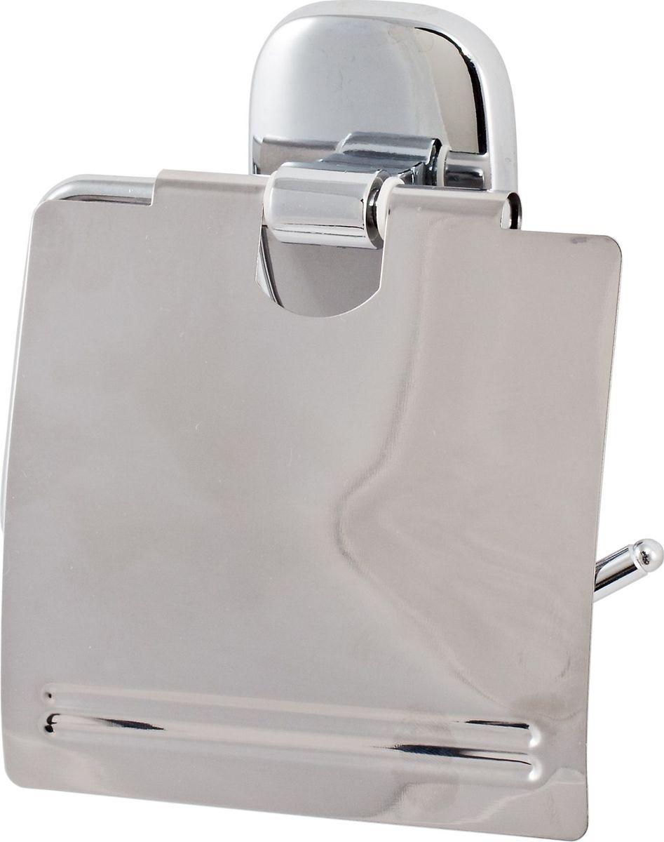 Держатель туалетной бумаги Del Mare 1500, цвет: хром1504Держатель туалетной бумаги — практичный аксессуар для санузла, выполненного в современном стиле. Этот небольшой, но важный предмет интерьера поможет создать эргономичное пространство даже в компактном помещении. Держатель прекрасно гармонирует с любой расцветкой ванной комнаты. Хромированная поверхность изделия создает зеркальный эффект, подчеркивая оформление ванной комнаты.