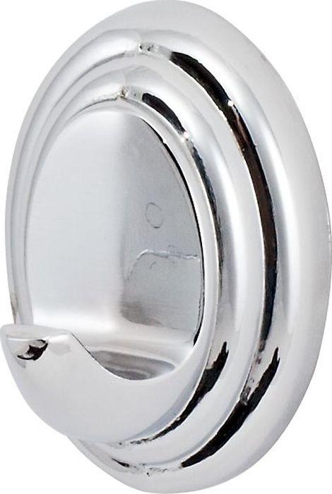 Крючок для ванной Del Mare 3100, цвет: хром3101Крючок изготовлен из латуни, которая обеспечивает изделию прочность и способствует длительному сроку эксплуатации. Хромированное покрытие легко моется и чистится. Крепление изделия позволяет надежно зафиксировать его на различных поверхностях. Крючок легко монтируется и имеет удобную форму для удержания полотенца из любого материала. Изделие станет интересным и стильным элементом декора в современном интерьере.