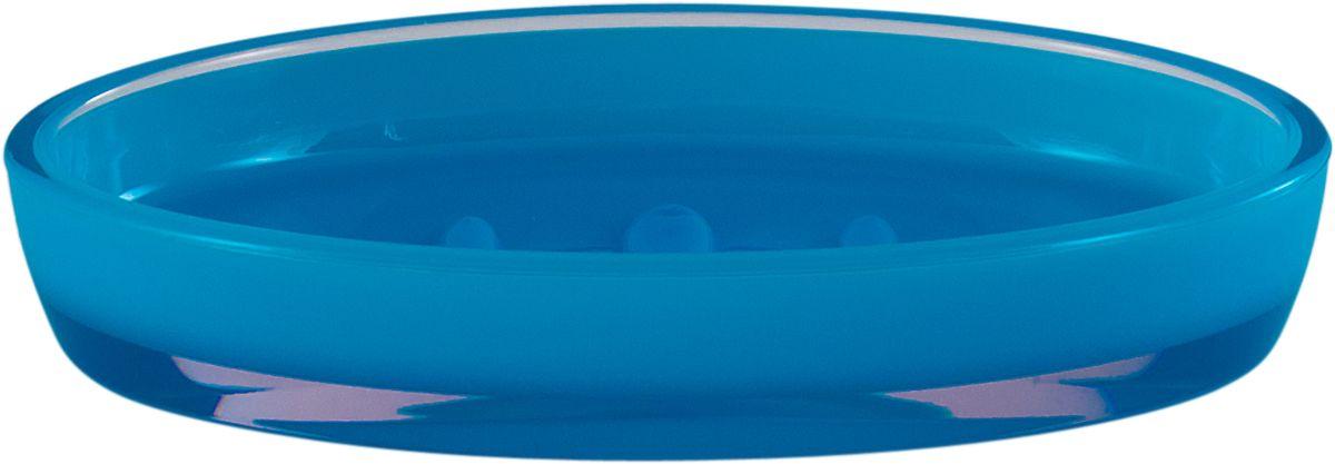 Мыльница Swensa Рондо, цвет: синийAC-3001D-BlueМыльница Рондо поможет внести свежую нотку в продуманный интерьер ванной комнаты. Ребристое дно препятствует выскальзыванию и размоканию бруска мыла, а благодаря компактным размерам и овальной форме аксессуар легко размещается на стеклянной полке, бортике ванны или уголке раковины. Влагостойкое покрытие обеспечивает надежную защиту от повышенной влажности и воздействия высоких температур, продлевая срок службы изделия.