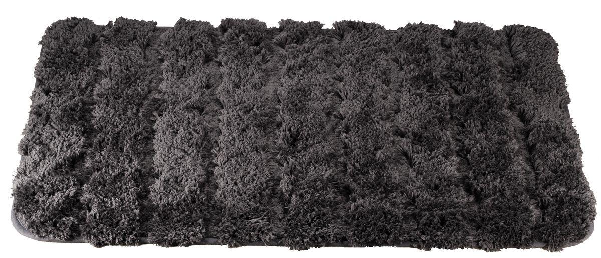 Коврик для ванной Swensa Molle, цвет: серый, 60 х 90 смSWM-2017-GREYКоврик Molle, размером 60х90 см, предназначен для ванной комнаты. Мягкий и нежный ворс из микрофибры дарит приятные ощущения при прикосновении к коже. Материал нетребователен в уходе – его можно стирать с обычными моющими средствами. Ворс быстро высыхает при комнатной температуре, поэтому плесневые грибки и вредные микроорганизмы не развиваются на поверхности коврика. Микрофибра обладает антистатическими свойствами, не вызывает аллергий и не выделяет токсичные вещества.