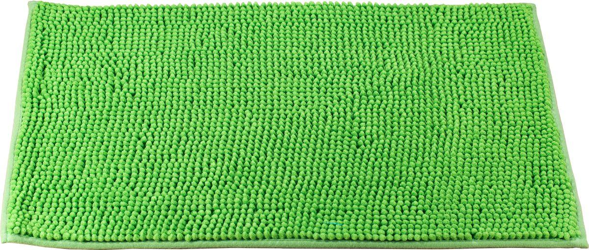 Коврик для ванной Swensa, цвет: зеленый, 45 х 70 смSWM-3003GR-BКоврик выполнен из полиэстера – современного и очень нежного на ощупь материала, обладающего рядом полезных свойств. Он не мнется, не теряет форму и легко чистится без специальной подготовки. Полиэстер не пропускает воду и быстро высыхает. При должном уходе он будет дарить уют и комфорт многие годы, не теряя отличного внешнего вида.