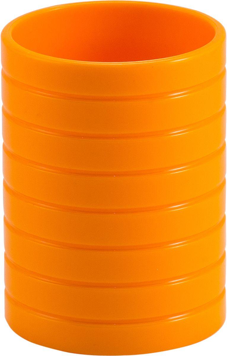 Стакан для ванной Swensa Тренто, цвет: оранжевыйSWP-0680OR-CСтакан для ванной комнаты Тренто – элегантное и изысканное решение для ванной комнаты. Он целиком выполнен из пластика, что гарантирует прочность изделия и простоту ухода. Материал неприхотлив и не боится воздействия химических веществ. Изделие не выделяется на фоне других принадлежностей, оставаясь при этом уникальным и необычным.