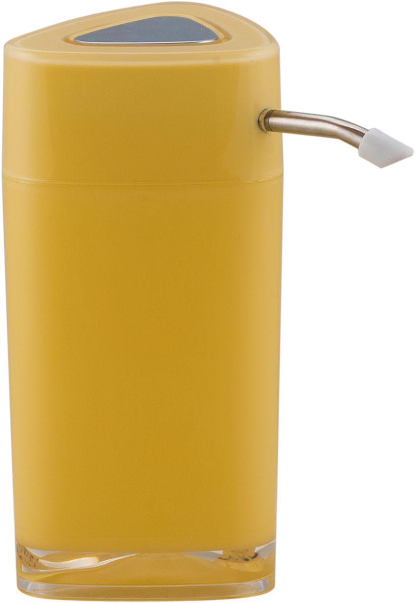 Дозатор для жидкого мыла Swensa Нео, с зеркалом, цвет: ванильный, 250 млSWP-0700VN-AДозатор для жидкого мыла обеспечивает его экономный расход и упрощает процедуру умывания. Дизайн этого изделия выполнен с учетом модных тенденций оформительского искусства. Флакон дозатора имеет эргономичную форму, позволяя увеличить полезное пространство на полке в ванной или на кухонной мойке. Внешняя часть помпы изготовлена из металла, стойкого к окислению под воздействием моющих средств и воды. Конструкция помпы выдерживает многократные нагрузки.