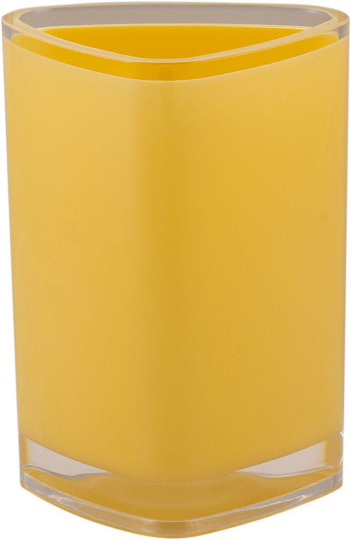 Стакан для ванной Swensa Нео, цвет: ванильныйSWP-0700VN-CСтакан Нео — практичный аксессуар для удобного хранения гигиенических принадлежностей. Изделие обращает на себя внимание выразительной формой, выдержанной в современном дизайне. Этот яркий аксессуар, дополненный иными изделиями из одноименной коллекции, станет модным акцентом в сдержанном интерьере ванной комнаты.