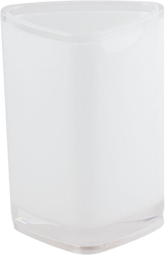Стакан для ванной Swensa Нео, цвет: белыйSWP-0700WH-CСтакан Нео — практичный аксессуар для удобного хранения гигиенических принадлежностей. Изделие обращает на себя внимание выразительной формой, выдержанной в современном дизайне. Этот яркий аксессуар, дополненный иными изделиями из одноименной коллекции, станет модным акцентом в сдержанном интерьере ванной комнаты.