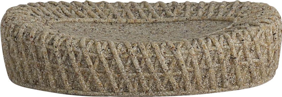 Мыльница Swensa Тиволи, цвет: светло-коричневыйSWT-1450DМыльница Тиволи входит в одноименную коллекцию аксессуаров, выдержанную в современной стилистике. Особую выразительность модели придает оригинальное дизайнерское решение: имитация фактуры крупной вязки. Полирезин, из которого выполнено изделие, отличают пластичность, ударопрочность, стойкость к влаге и горячему пару. Поверхность материала не имеет пор, поэтому исключает возможность образования плесени.