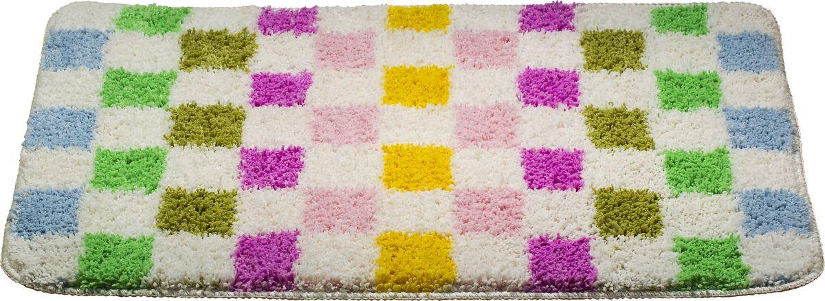 Коврик для ванной Swensa Confetti, цвет: белый, 50 х 80 смSWM-1014 MixКоврик выполнен из микрофайбера – современного и очень нежного на ощупь материала, обладающего рядом полезных свойств. Он не мнется, не теряет форму и легко чистится без специальной подготовки. Микрофайбер не пропускает воду и быстро высыхает, его легко чистить. При должном уходе он будет дарить уют и комфорт многие годы, не теряя отличного внешнего вида.