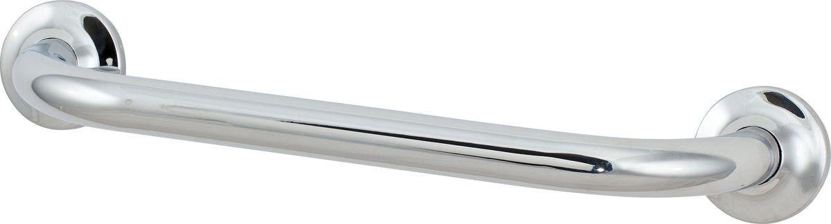 Поручень для ванной Del Mare, прямой, цвет: хром, 36 см3368В14Универсальное средство опоры. Поручень убережет от скольжения и падения на скользском полу.
