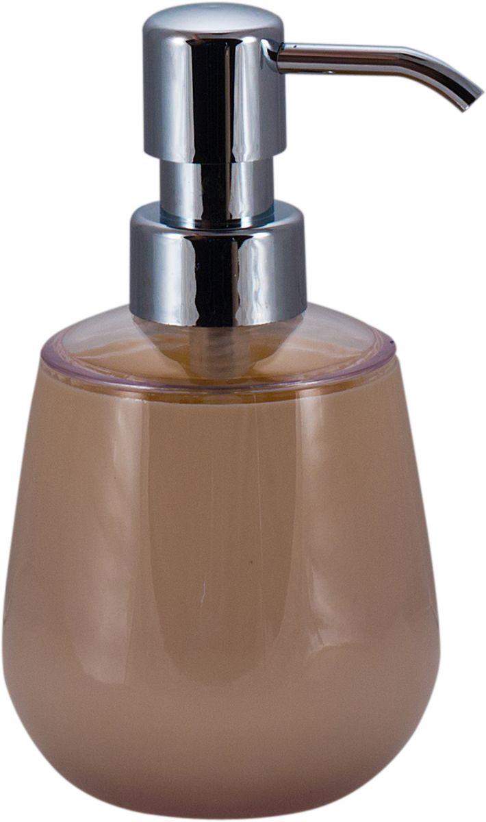 Дозатор для жидкого мыла Swensa Рондо, цвет: бежевый, 250 млAC-3001A-BiegeДозатор для жидкого мыла Рондо — отличная альтернатива традиционной мыльнице. Сочетание емкости из акрила и хромированного «носика» выглядит просто, но, в то же время, стильно. Моющее средство (мыло или гель) выдается дозированно, а значит, существенно экономится. Благодаря компактному размеру, место для диспенсера найдется даже на небольшой полочке в ванной.