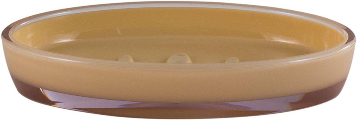 Мыльница Swensa Рондо, цвет: бежевыйAC-3001D-BiegeМыльница Рондо поможет внести свежую нотку в продуманный интерьер ванной комнаты. Ребристое дно препятствует выскальзыванию и размоканию бруска мыла, а благодаря компактным размерам и овальной форме аксессуар легко размещается на стеклянной полке, бортике ванны или уголке раковины. Влагостойкое покрытие обеспечивает надежную защиту от повышенной влажности и воздействия высоких температур, продлевая срок службы изделия.