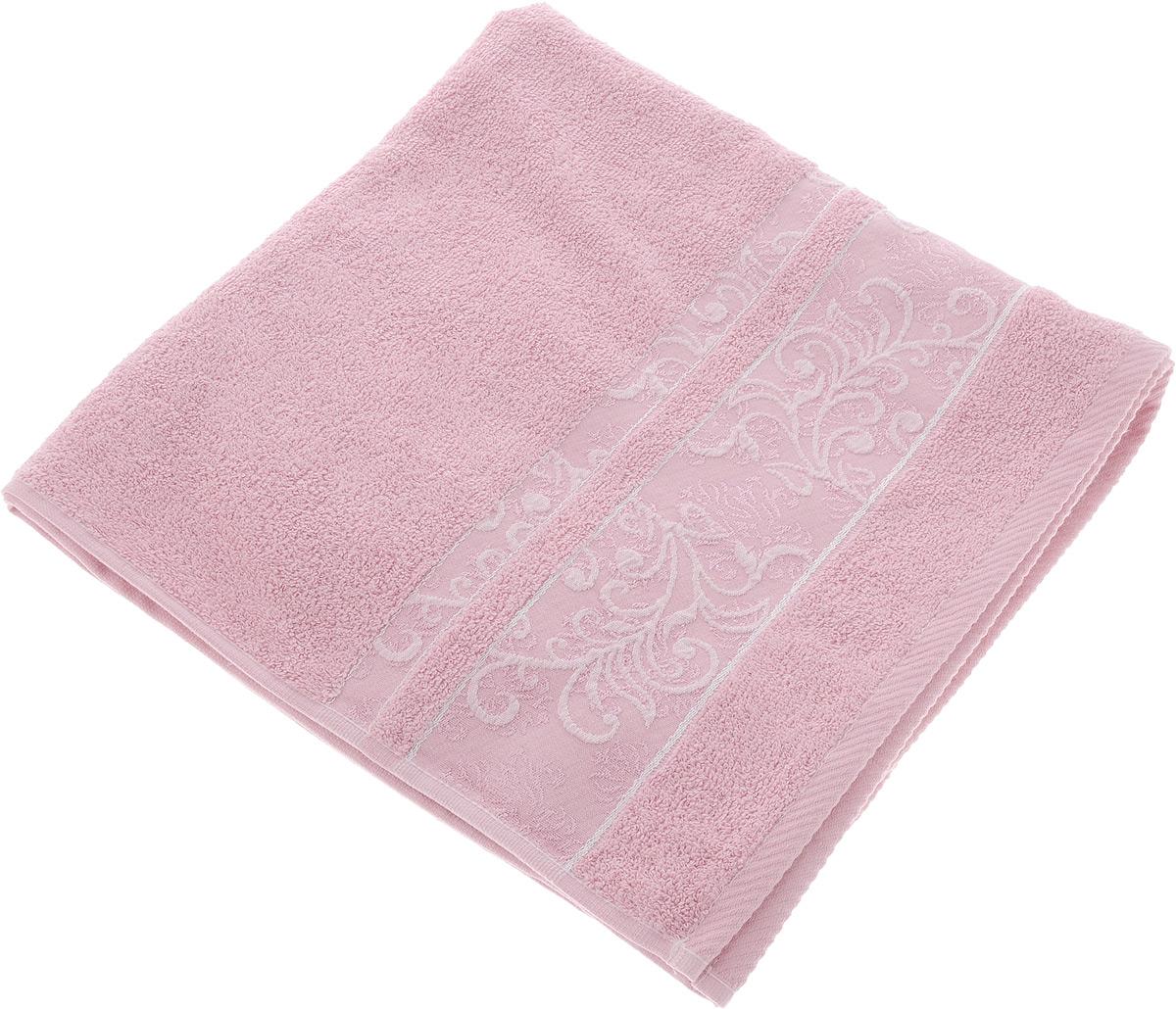 Полотенце Brielle Sarmasik, цвет: розовый, 70 х 140 см1206Полотенце Brielle Sarmasik выполнено из натурального хлопка. Изделие очень мягкое, оно отлично впитывает влагу, быстро сохнет, сохраняет яркость цвета и не теряет формы даже после многократных стирок. Модель оформлена узором. Полотенце Brielle Sarmasik очень практично и неприхотливо в уходе. Такое полотенце послужит приятным подарком.