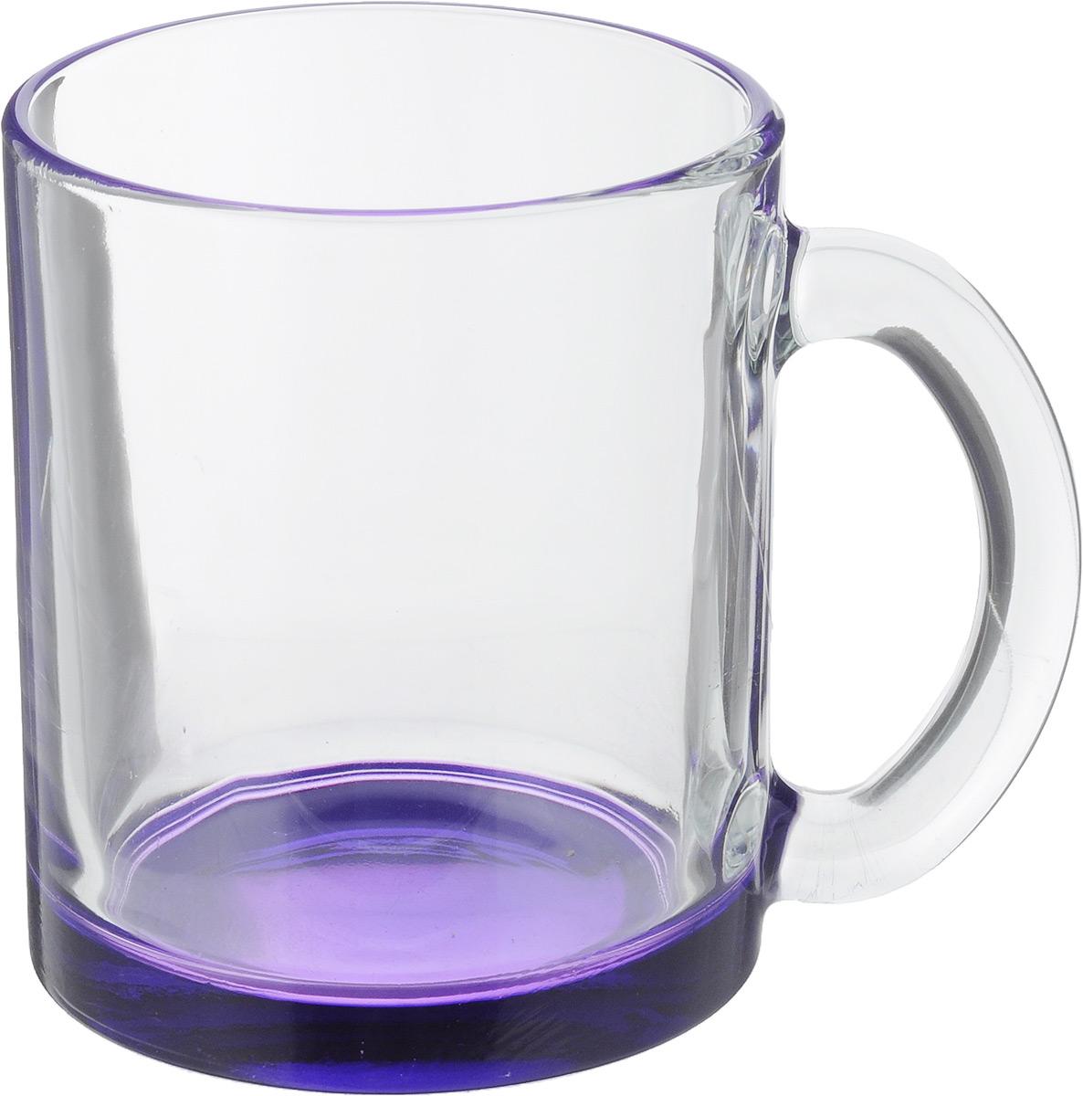 Кружка OSZ Чайная, цвет: прозрачный, фиолетовый, 320 мл04C1208LM_ прозрачный, фиолетовыйКружка OSZ Чайная изготовлена из стекла двух цветов. Изделие идеально подходит для сервировки стола. Кружка не только украсит ваш кухонный стол, но и подчеркнет прекрасный вкус хозяйки. Диаметр кружки (по верхнему краю): 8 см. Высота кружки: 9,5 см. Объем кружки: 320 мл.