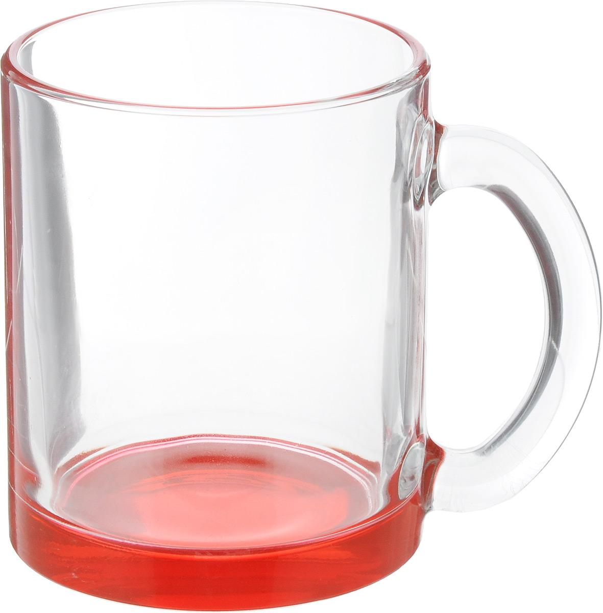 Кружка OSZ Чайная, цвет: прозрачный, красный, 320 мл04C1208LM_прозрачный, красныйКружка OSZ Чайная изготовлена из стекла двух цветов. Изделие идеально подходит для сервировки стола. Кружка не только украсит ваш кухонный стол, но и подчеркнет прекрасный вкус хозяйки. Диаметр кружки (по верхнему краю): 8 см. Высота кружки: 9,5 см. Объем кружки: 320 мл.