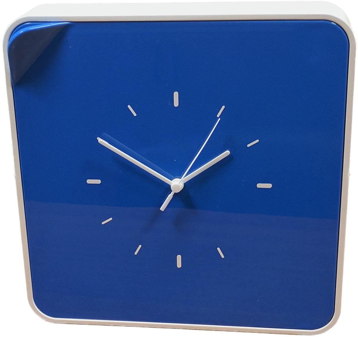 Ключница настенная Byline, с часами, цвет: синий. 108.3254.04108.3254.04Многофункциональный ящик - удобное решение для хранения любых мелочей: косметика, лаки, украшения, диски и другие мелкие аксессуары всегда будут на своем месте. Ящик легко впишется в интерьер, спальни, гостиной и даже деткой комнаты.