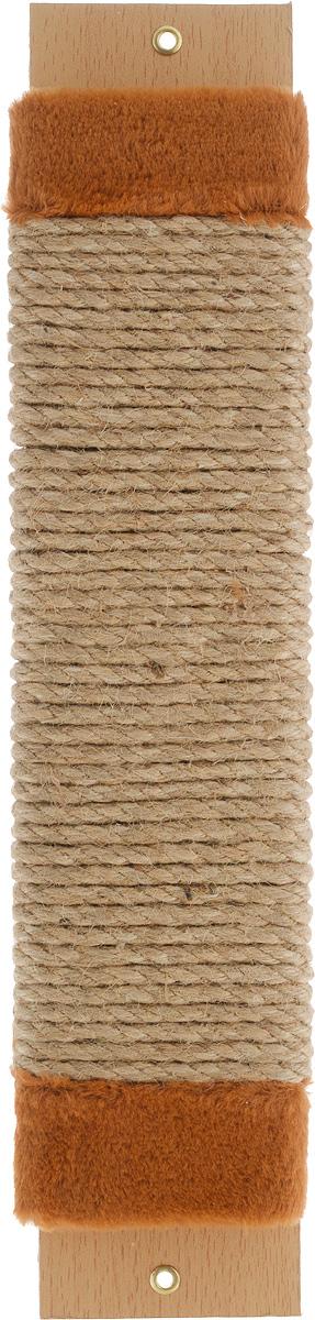 Когтеточка Adel-Pet Для котят, с пропиткой, веревочная, длина 44 см990083Когтеточка Adel-Pet Для котят поможет сохранить мебель и ковры в доме от когтей вашего любимца, стремящегося удовлетворить свою естественную потребность точить когти. Когтеточка изготовлена из ДСП, синтетики и сизаля. На когтеточке имеются 2 отверстия для крепления к стене. Товар продуман в мельчайших деталях и, несомненно, понравится вашей кошке. Всем кошкам необходимо стачивать когти. Когтеточка - один из самых необходимых аксессуаров для кошки. Для легкого приучения питомца изделие обработано привлекающей пропиткой.