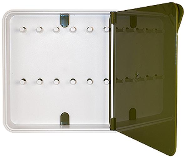 Ключница настенная Byline, цвет: бежевый. 108.3201.03108.3201.03Настенные ключницы - созданы как удобные органайзеры для хранения и контроля за комплектами ключей. Больше не надо думать, куда положить ключи от квартиры или дома, машины, почтового ящика, кладовки.