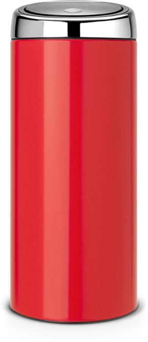 Мусорный бак Brabantia Touch Bin, 30 л. 483844483844Стильный Touch Bin на 30 литров – непременный атрибут каждой гостиной или кухни. Порадуйте себя и удивите гостей! Бесшумное открывание/закрывание крышки легким касанием – система soft touch. Удобная смена мешков для мусора – съемный блок крышки из нержавеющей стали. Удобная очистка – съемное внутреннее ведро из пластика с вентиляционными отверстиями, предотвращающими образование вакуума при вынимании полного мусорного мешка. Легкое перемещение с места на место – прочная ручка для переноски. Предохранение пола от повреждений – пластиковый защитный обод. Бак изготовлен из коррозионно-стойких материалов – долговечность и удобство в очистке. Всегда опрятный вид – идеально подходящие по размеру мешки для мусора с завязками (размер G). 10-летняя гарантия Brabantia.