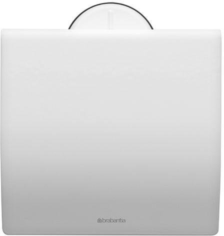 Держатель для туалетной бумаги Brabantia. 483387483387Держатель для туалетной бумаги изготовлен из высококачественной листовой стали со стойким антикоррозийным покрытием или хромированной стали, поэтому он идеально подходит для использования в ванной и туалете. Держатель просто монтировать и легко менять рулон. Фурнитура для монтажа входит в комплект. Пластина крепления - пластиковая. Легко сменить рулон. Рулон можно вставить справа или слева. Сочетается с другими аксессуарами Brabantia для ванной комнаты такого же цвета: с туалетным ершиком, баком для белья, настенным мусорным ведром и мусорным ведром с ножной педалью. Гарантия 10 лет.