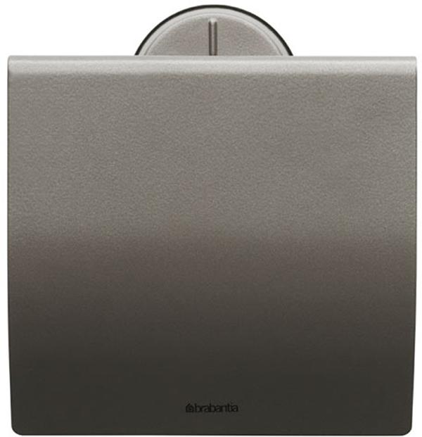 Держатель для туалетной бумаги Brabantia. 483363483363Держатель для туалетной бумаги изготовлен из высококачественной листовой стали со стойким антикоррозийным покрытием или хромированной стали, поэтому он идеально подходит для использования в ванной и туалете. Держатель просто монтировать и легко менять рулон. Фурнитура для монтажа входит в комплект. Пластина крепления - пластиковая. Легко сменить рулон. Рулон можно вставить справа или слева. Сочетается с другими аксессуарами Brabantia для ванной комнаты такого же цвета: с туалетным ершиком, баком для белья, настенным мусорным ведром и мусорным ведром с ножной педалью. Гарантия 10 лет.