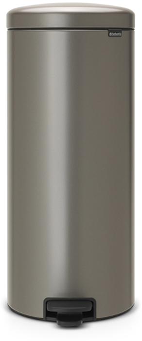 Мусорный бак с педалью Brabantia NewIcon, 30 л. 114441114441Этот высокий вместительный бак с педалью на 30 литров – превосходное решение для большой семьи. Бесшумный – плавное закрывание крышки и необыкновенно мягкий ход педали. Не пропускает запах – плотно прилегающая крышка. Устойчивый – специальное устройство, предотвращающее опрокидывание бака. Не повреждает пол – нескользящее основание. Удобная очистка –съемное внутреннее пластиковое ведро. Бак удобно перемещать – специальная ручка в блоке крепления крышки. Всегда опрятный вид – в комплекте идеально подходящие по размеру мешки для мусора PerfectFit (размер D). Сертификат соответствия концепции регенерации Cradle to Cradle. Изготовлен на 40% из переработанных материалов, подлежит вторичной переработке вместе с упаковкойна 98%. 10 лет гарантии и сервисное обслуживание. Brabantia c заботой о вашем доме и планете. Добрые дела сегодня – залог счастливого завтра. Мусорные баки с педалью newIcon не только безупречно красивы, они еще и надежные...