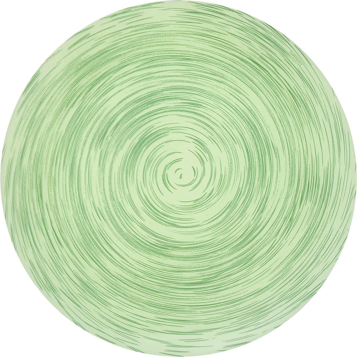 Тарелка обеденная Luminarc Stonemania Pistache, диаметр 25 смJ1756Обеденная тарелка Luminarc Stonemania Pistache, изготовленная из высококачественного стекла, имеет изысканный внешний вид. Такая тарелка прекрасно подходит как для торжественных случаев, так и для повседневного использования. Идеальна для подачи десертов, пирожных, тортов и многого другого. Она прекрасно оформит стол и станет отличным дополнением к вашей коллекции кухонной посуды. Можно мыть в посудомоечной машине.