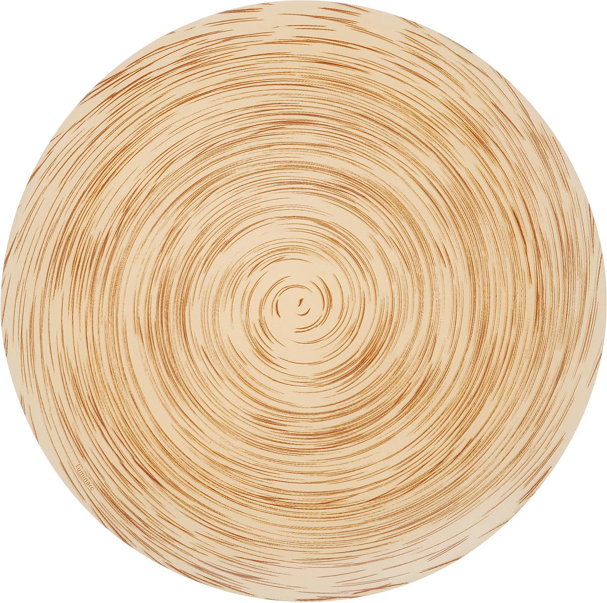 Тарелка обеденная Luminarc Stonemania Cappuccino, диаметр 25 смJ1759Обеденная тарелка Luminarc Stonemania Cappuccino, изготовленная из высококачественного стекла, имеет изысканный внешний вид. Такая тарелка прекрасно подходит как для торжественных случаев, так и для повседневного использования. Идеальна для подачи десертов, пирожных, тортов и многого другого. Она прекрасно оформит стол и станет отличным дополнением к вашей коллекции кухонной посуды. Можно мыть в посудомоечной машине.