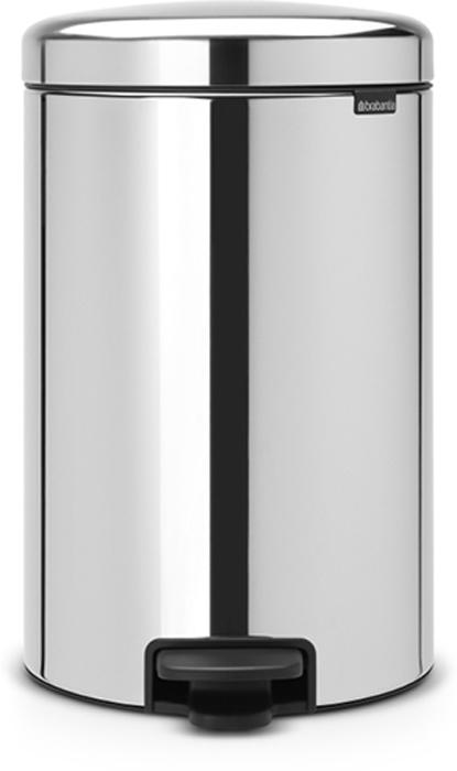 Мусорный бак с педалью Brabantia NewIcon, 20 л. 114267114267Этот 20-литровый бак с педалью – отличное решение для кухни или гостиной: большое загрузочное отверстие позволяет аккуратно собирать мусор, не просыпая на пол. Бесшумный – плавное закрывание крышки и необыкновенно мягкий ход педали. Не пропускает запах – плотно прилегающая крышка. Устойчивый – специальное устройство, предотвращающее опрокидывание бака. Не повреждает пол – нескользящее основание. Удобная очистка –съемное внутреннее металлическое ведро. Бак удобно перемещать – специальная ручка в блоке крепления крышки. Всегда опрятный вид – в комплекте идеально подходящие по размеру мешки для мусора PerfectFit (размер D). Сертификат соответствия концепции регенерации Cradle to Cradle. Изготовлен на 40% из переработанных материалов, подлежит вторичной переработке вместе с упаковкойна 98%. 10 лет гарантии. Brabantia c заботой о вашем доме и планете. Добрые дела сегодня – залог счастливого завтра. Мусорные баки с педалью newIcon не только...