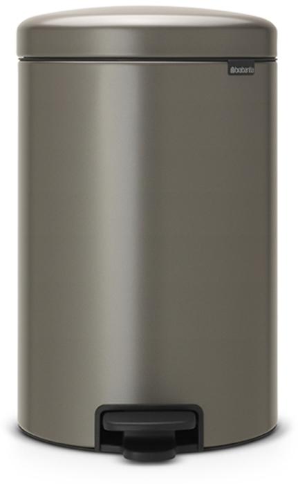 Мусорный бак с педалью Brabantia NewIcon, 20 л. 114045114045Этот 20-литровый бак с педалью – отличное решение для кухни или гостиной: большое загрузочное отверстие позволяет аккуратно собирать мусор, не просыпая на пол. Бесшумный – плавное закрывание крышки и необыкновенно мягкий ход педали. Не пропускает запах – плотно прилегающая крышка. Устойчивый – специальное устройство, предотвращающее опрокидывание бака. Не повреждает пол – нескользящее основание. Удобная очистка –съемное внутреннее пластиковое ведро. Бак удобно перемещать – специальная ручка в блоке крепления крышки. Всегда опрятный вид – в комплекте идеально подходящие по размеру мешки для мусора PerfectFit (размер D). Сертификат соответствия концепции регенерации Cradle to Cradle. Изготовлен на 40% из переработанных материалов, подлежит вторичной переработке вместе с упаковкойна 98%. 10 лет гарантии. Brabantia c заботой о вашем доме и планете. Добрые дела сегодня – залог счастливого завтра. Мусорные баки с педалью newIcon не только...