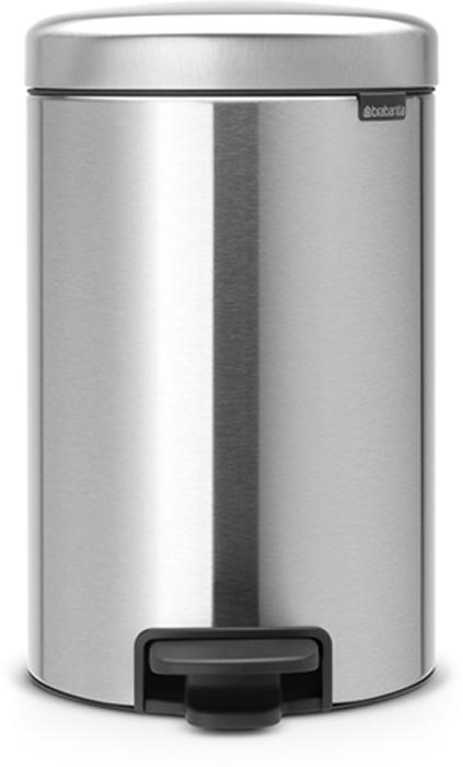 Мусорный бак с педалью Brabantia NewIcon, 12 л. 113604113604Этот 12-литровый бак с педалью достаточно вместителен и при этом достаточно компактен для размещения под рабочим столом – отличное решение для кухни или гостиной. Бесшумный – плавное закрывание крышки и необыкновенно мягкий ход педали. Не пропускает запах – плотно прилегающая крышка. Устойчивый – специальное устройство, предотвращающее опрокидывание бака. Не повреждает пол – нескользящее основание. Удобная очистка –съемное внутреннее пластиковое ведро. Бак удобно перемещать – специальная ручка в блоке крепления крышки. Всегда опрятный вид – в комплекте идеально подходящие по размеру мешки для мусора PerfectFit (размер C). Сертификат соответствия концепции регенерации Cradle to Cradle. Изготовлен на 40% из переработанных материалов, подлежит вторичной переработке вместе с упаковкойна 98%. 10 лет гарантии. Brabantia c заботой о вашем доме и планете. Добрые дела сегодня – залог счастливого завтра. Мусорные баки с педалью newIcon не только...