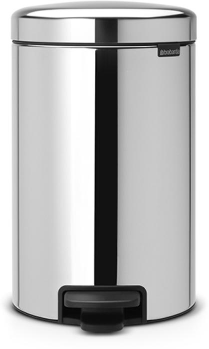Мусорный бак с педалью Brabantia NewIcon, 12 л. 113581113581Этот 12-литровый бак с педалью достаточно вместителен и при этом достаточно компактен для размещения под рабочим столом – отличное решение для кухни или гостиной. Бесшумный – плавное закрывание крышки и необыкновенно мягкий ход педали. Не пропускает запах – плотно прилегающая крышка. Устойчивый – специальное устройство, предотвращающее опрокидывание бака. Не повреждает пол – нескользящее основание. Удобная очистка –съемное внутреннее пластиковое ведро. Бак удобно перемещать – специальная ручка в блоке крепления крышки. Всегда опрятный вид – в комплекте идеально подходящие по размеру мешки для мусора PerfectFit (размер C). Сертификат соответствия концепции регенерации Cradle to Cradle. Изготовлен на 40% из переработанных материалов, подлежит вторичной переработке вместе с упаковкойна 98%. 10 лет гарантии. Brabantia c заботой о вашем доме и планете. Добрые дела сегодня – залог счастливого завтра. Мусорные баки с педалью newIcon не только...