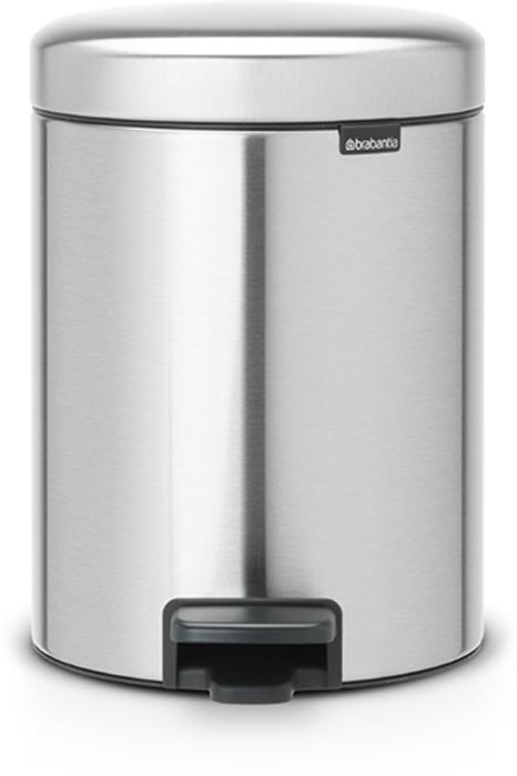 Мусорный бак с педалью Brabantia NewIcon, 5 л. 112102112102Этот 5-литровый бак с педалью идеально подходит для ванной, туалета или детской комнаты. Бесшумный – плавное закрывание крышки и необыкновенно мягкий ход педали. Не пропускает запах – плотно прилегающая крышка. Устойчивый – специальное устройство, предотвращающее опрокидывание бака. Не повреждает пол – нескользящее основание. Удобная очистка – съемное внутреннее пластиковое ведро. Всегда опрятный вид – в комплекте идеально подходящие по размеру мешки для мусора PerfectFit (размер В). Сертификат соответствия концепции регенерации Cradle to Cradle. Изготовлен на 40% из переработанных материалов, подлежит вторичной переработке вместе с упаковкойна 98%. 10 лет гарантии. Brabantia c заботой о вашем доме и планете. Добрые дела сегодня – залог счастливого завтра. Мусорные баки с педалью newIcon не только безупречно красивы, они еще и надежные работники! Покупая этот бак, вы вносите вклад в крупнейший проект по очистке мирового океана от пластикового...