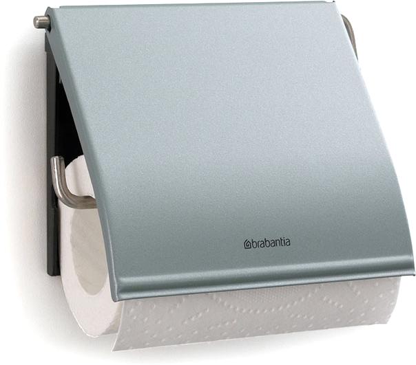 Держатель для туалетной бумаги Brabantia. 107924107924Держатель для туалетной бумаги изготовлен из высококачественной листовой стали со стойким антикоррозийным покрытием или хромированной стали, поэтому он идеально подходит для использования в ванной и туалете. Держатель просто монтировать и легко менять рулон. Фурнитура для монтажа входит в комплект. Пластина крепления - пластиковая. Легко сменить рулон. Рулон можно вставить справа или слева. Сочетается с другими аксессуарами Brabantia для ванной комнаты такого же цвета: с туалетным ершиком, баком для белья, настенным мусорным ведром и мусорным ведром с ножной педалью. Гарантия 10 лет.