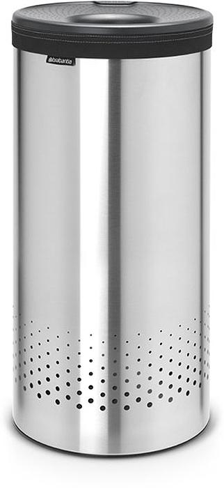 Бак для белья Brabantia, 35 л. 10346910346935-литровый бак для белья Brabantia выполнен из стойких к коррозии материалов и идеально подходит для влажных помещений. Благодаря классическому дизайну бак легко впишется в интерьер Вашей ванной комнаты! Изготовлен из коррозионностойких материалов (нержавеющая сталь и пластик). Металлическая крышка с отверстием, которое позволяет положить мелкие предметы в бак, не открывая крышку. Пластиковое защитное кольцо предотвращает повреждение пола. Вентиляционные отверстия на корпусе позволяют содержимому бака дышать, что позволяет избежать появления неприятного запаха. Съемный мешок для белья легко менять. Благодаря прорезиненным краям мешок не соскальзывает в корзину. В комплект входит съемный моющийся мешок для белья. •Гарантия 10 лет.