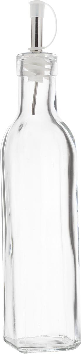 Емкость для масла и уксуса Zeller, цвет: прозрачный, 270 мл19728Бутылка для масла или уксуса , выполненная из стекла, позволит украсить любую кухню, внеся разнообразие как в строгий классический стиль, так и в современный кухонный интерьер. Она легка в использовании, стоит только перевернуть, и вы с легкостью сможете добавить оливковое или уксус. Оригинальная бутылка для масла будет отлично смотреться на вашей кухне.