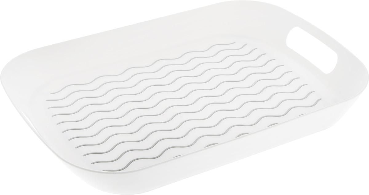 Поднос Zeller, цвет: белый, 442 х 295 х 50 мм26679